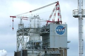 Nasa logo at Stennis Space Center