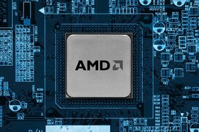AMD on a board