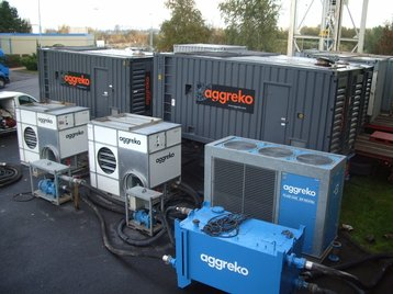 Aggreko's gas-powered generators.JPG
