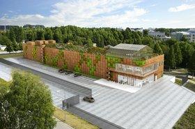 Multigrid data center in Kista - 3D render