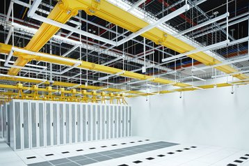 A data hall in an existing STT GDC facility