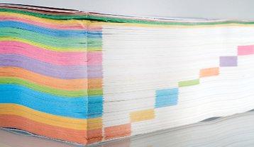 Catalog book paper stock