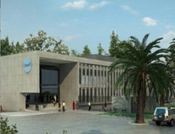 A rendering of America Movil's Claro data center in Chile