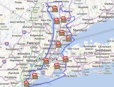 New York Battling Blackouts Following Hurricane Sandy Dcd