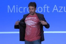 Corey Sanders, head of product for Azure Compute