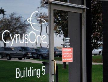 CyrusOne Dallas DC entrance