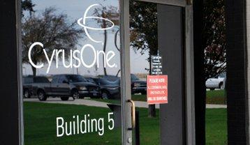 Entrance to a CyrusOne data center in the Dallas metro