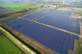 Delfzijl solar farm, Netherlands
