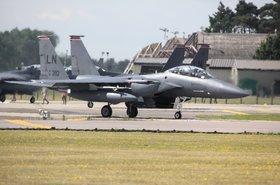 F15 Eagle at RAF Lakenheath
