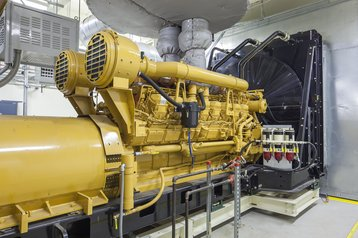 Standby diesel generator