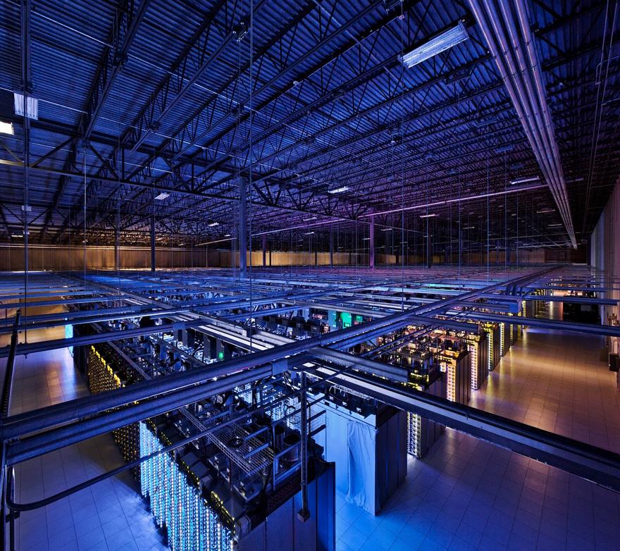 Google data center grande