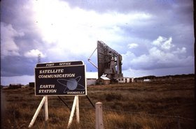 Goonhilly Satellite Earth Station in August 1965