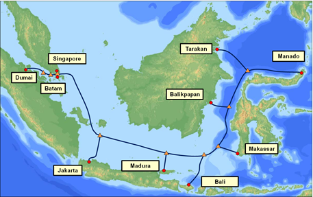 NEC to build IGG submarine cable system to link Indonesian islands - DCD