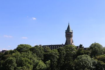 The Tower of Spuerkees Bank, Luxembourg City