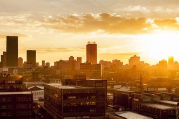 Johannesburg sunset