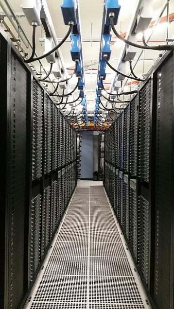 LinkedIn's data center in Singapore