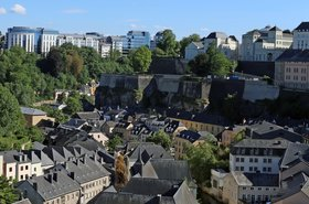 Luxembourg City, old town