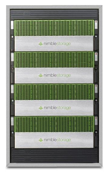 Nimble storage afa 4up rack