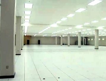 Inside QTS's Atlanta data center. Image courtesy of QTS.
