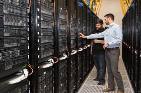 QTS Irving data center inside