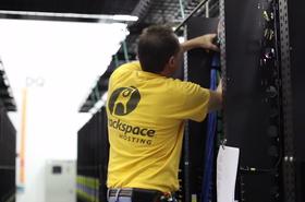 Rackspace engineer at work
