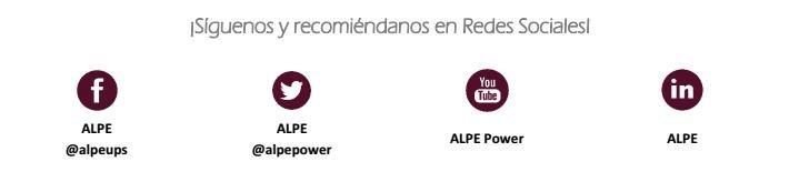 Alpe redes sociales