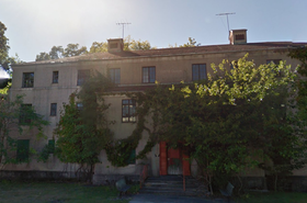 A building at the Rockland Psychiatric Center campus