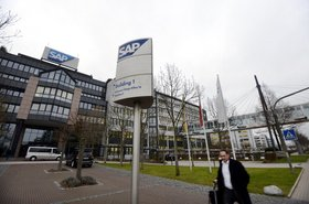Corporate headquarters of SAP AG in Walldorf, Germany