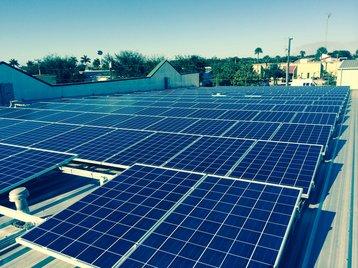 Synergy Network's solar array