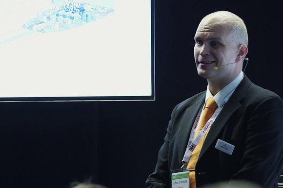 Juha Kerttula discusses how gas power solutions for Energy smart Data centers - T0fjgSI7-o8