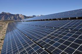 solar farm, Nevada