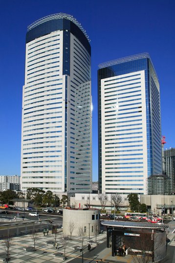 NTT Data HQ in Tokyo