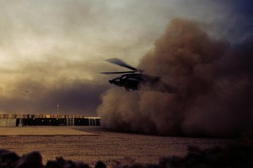 US Army UH-60Q Dustoff helicopter
