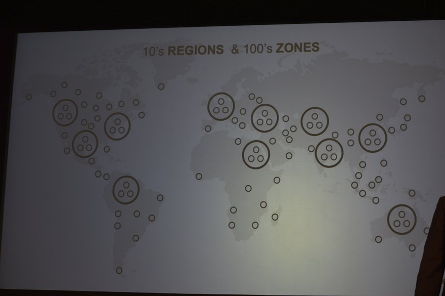 Uber future infrastructure deployment