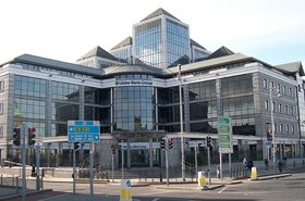 Ulster Bank headquarters, Dublin, Ireland