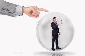 bubble burst DCIM business marketing PR spin Thinkstock Wavebreakmedia Ltd