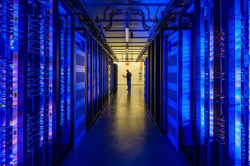 facebook data center and cold storage lead