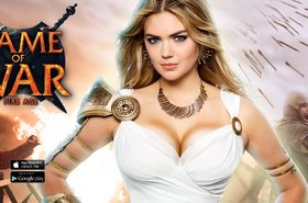 Kate Upton as the face of Game of War