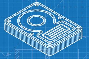 hard drive design blueprint
