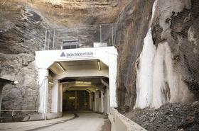 Iron Mountain entrance
