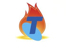 Telstra on fire