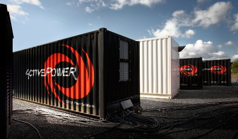 Active Power's PowerHouse containers