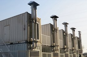 Gensets on a roof