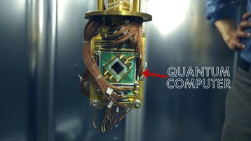 Google and NASA's D-Wave quantum computer