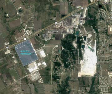 Proposed Sharka data center location