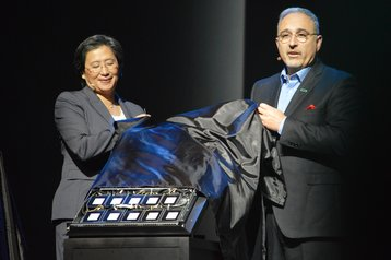 Lisa Su and Antonio Neri
